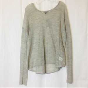 HELMUT LANG ECO FINE Alpaca Pullover Knit Sweater